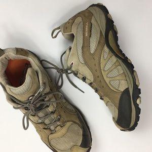 MERRELL | continuum vibram hiking shoes taupe